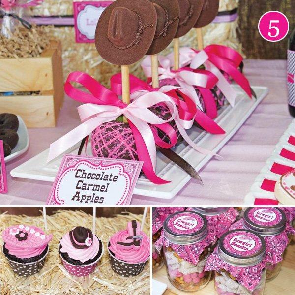 pink cowgirl birthday