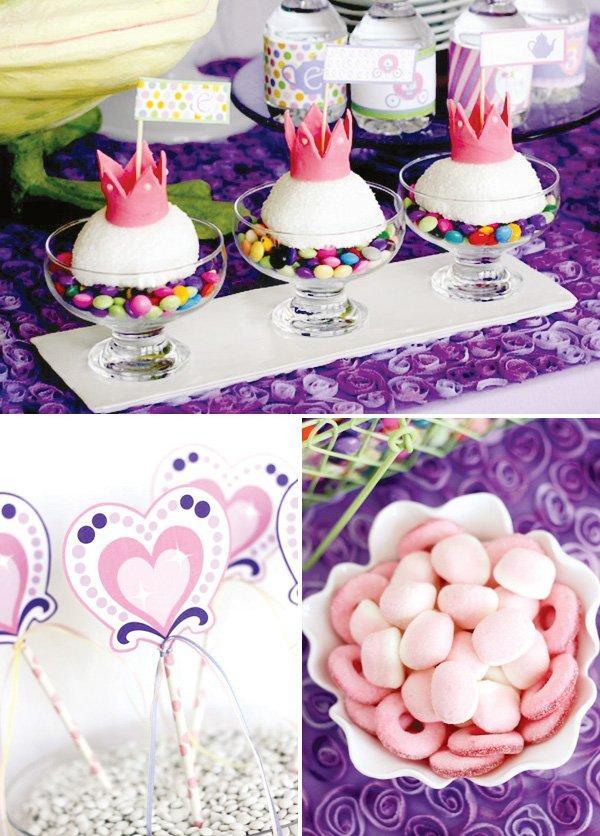 Prince Wand: Sweet Purple Princess Tea Party // Hostess With The Mostess®