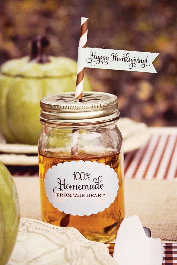 thanksgiving apple cider
