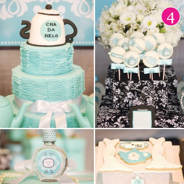 tiffany themed bridal shower