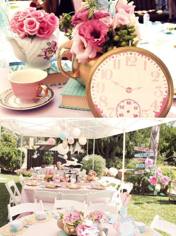 unbirthday tea party