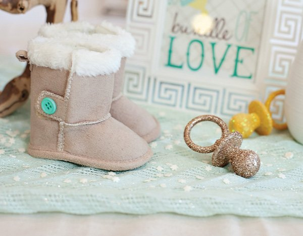 winter baby booties
