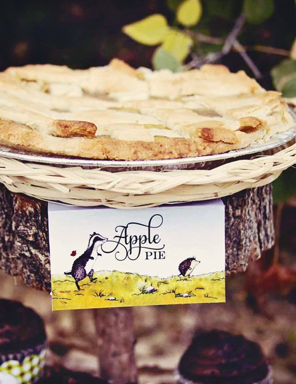 woodland apple pie