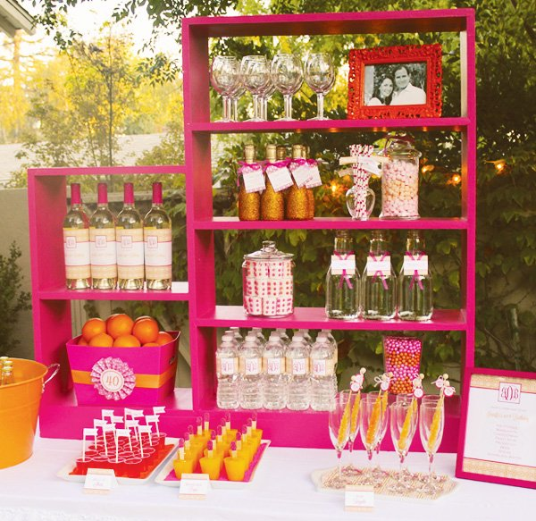 adult party drink station