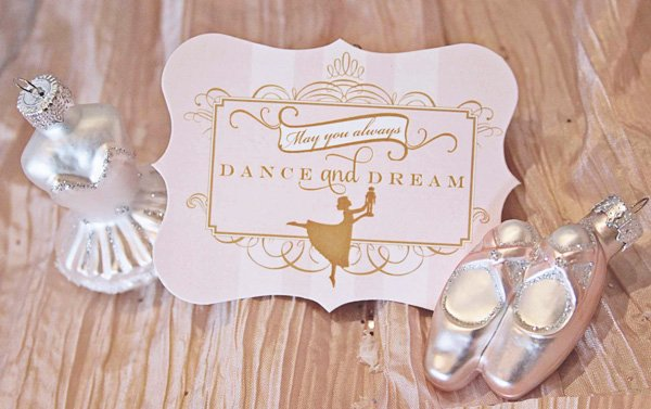 nutcracker sugar plum fairy party favors