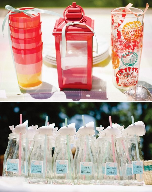 cute baby shower drinks