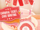 carnival ticket bunting