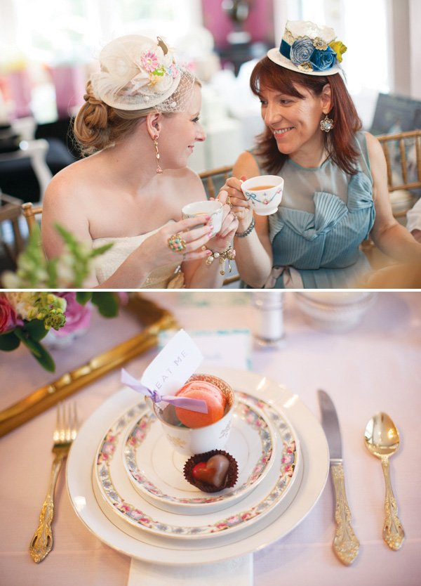 chic mad hatter tea party