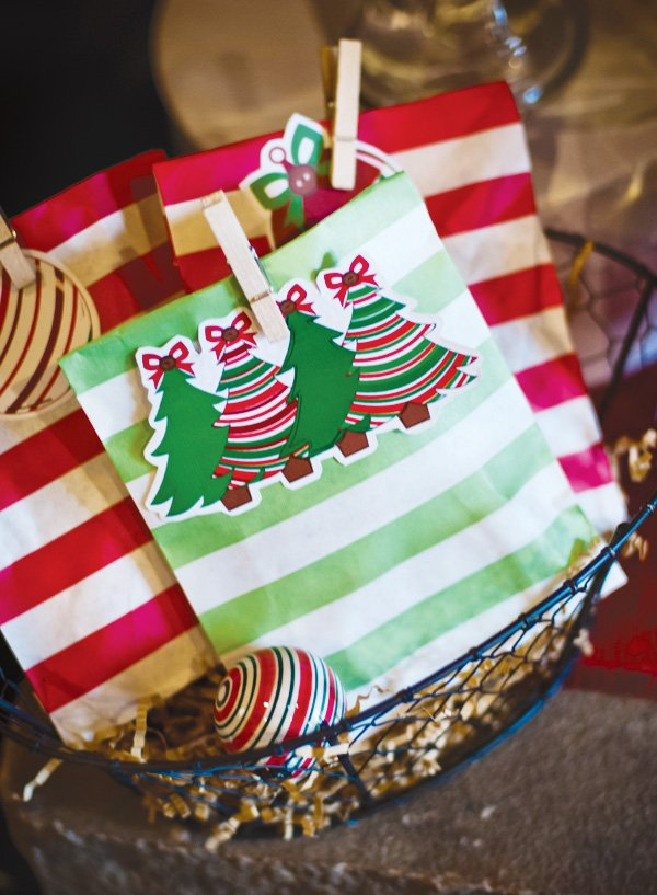 cute christmas party bags