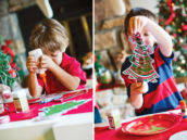 christmas tree decorating craft