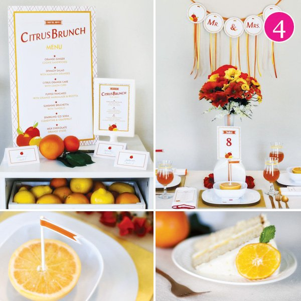 citrus brunch