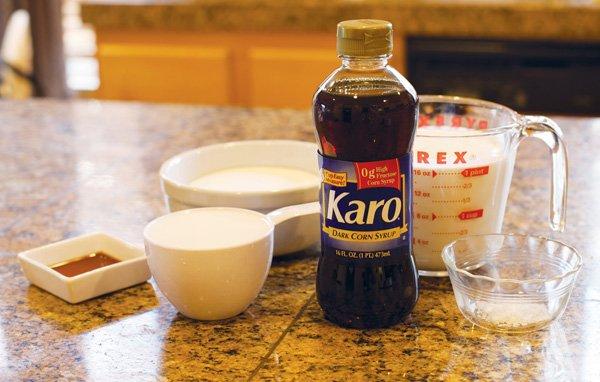 recipe: fudge made with karo syrup [39]