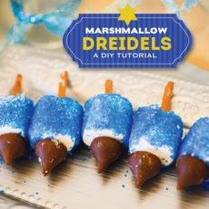 diy hanukkah dreidel tutorial