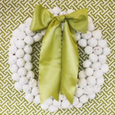 donut hole wreath