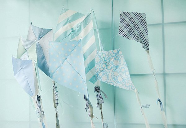 fabric kite backdrop
