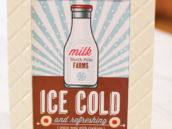 free holiday printables - milk sign