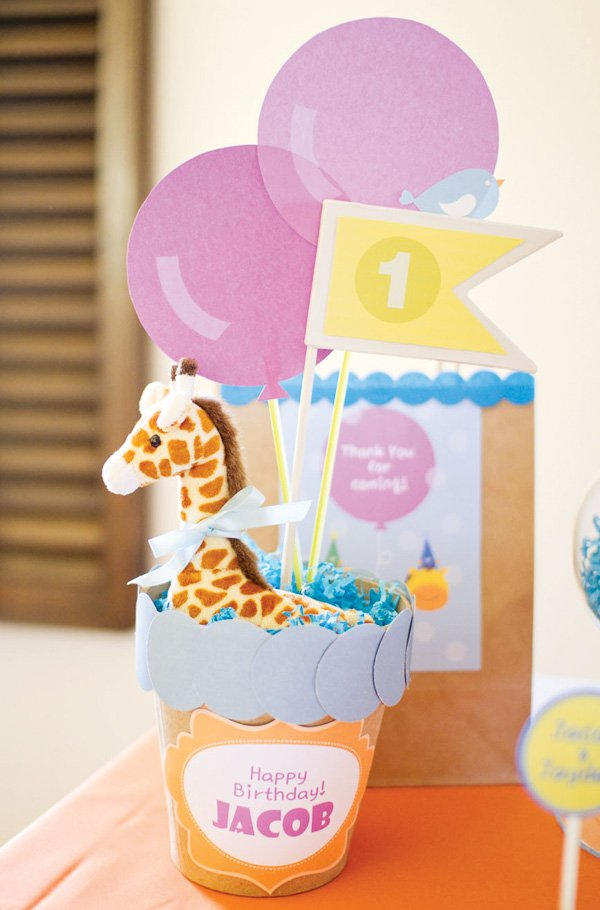 giraffe kids birthday
