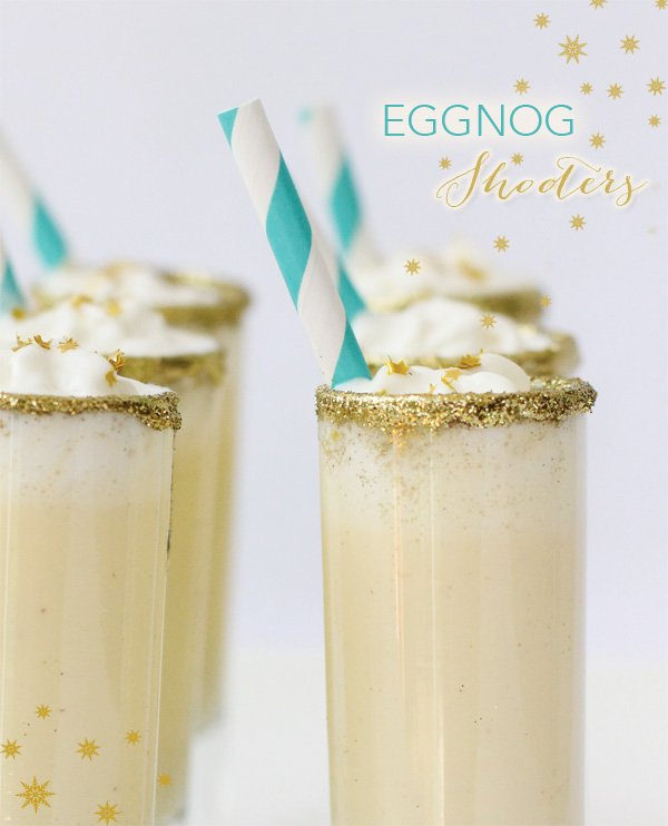 Holiday Eggnog Shooters // Hostess with the Mostess®