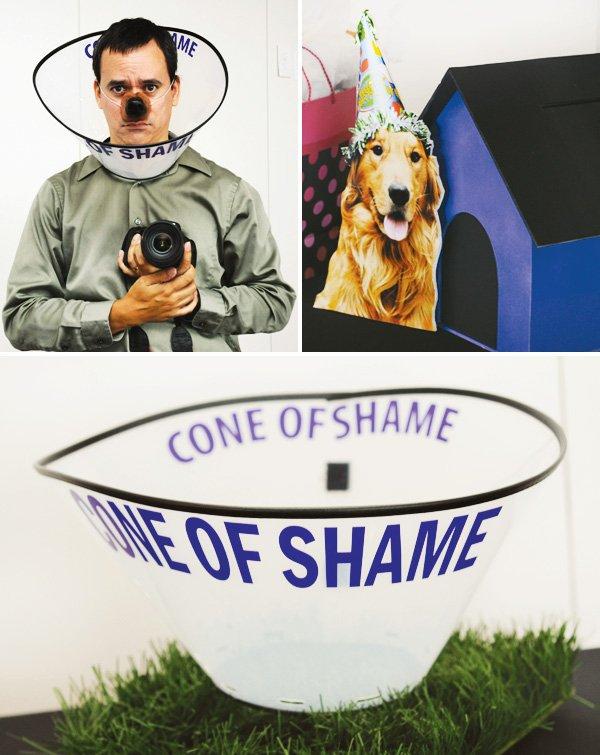 human dog cone