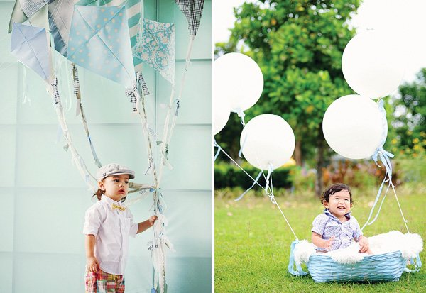 kite photo backdrop
