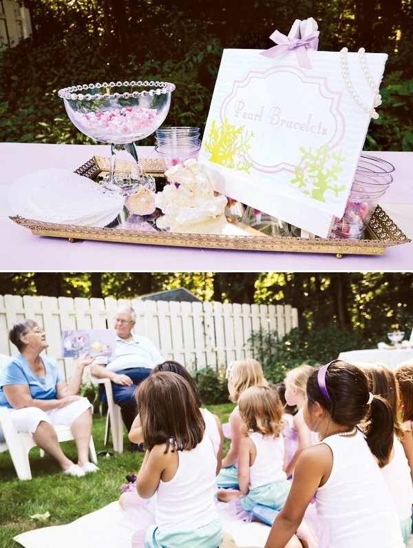 mermaid party activities