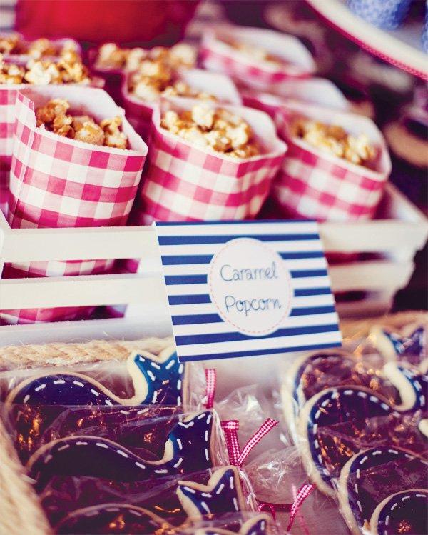 nautical party snacks