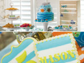 ocean reef dessert table