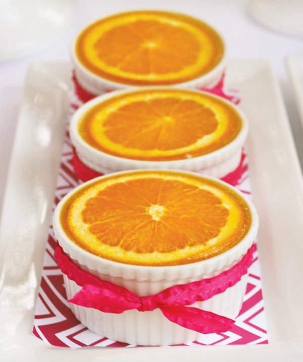 orange mousse cheesecake