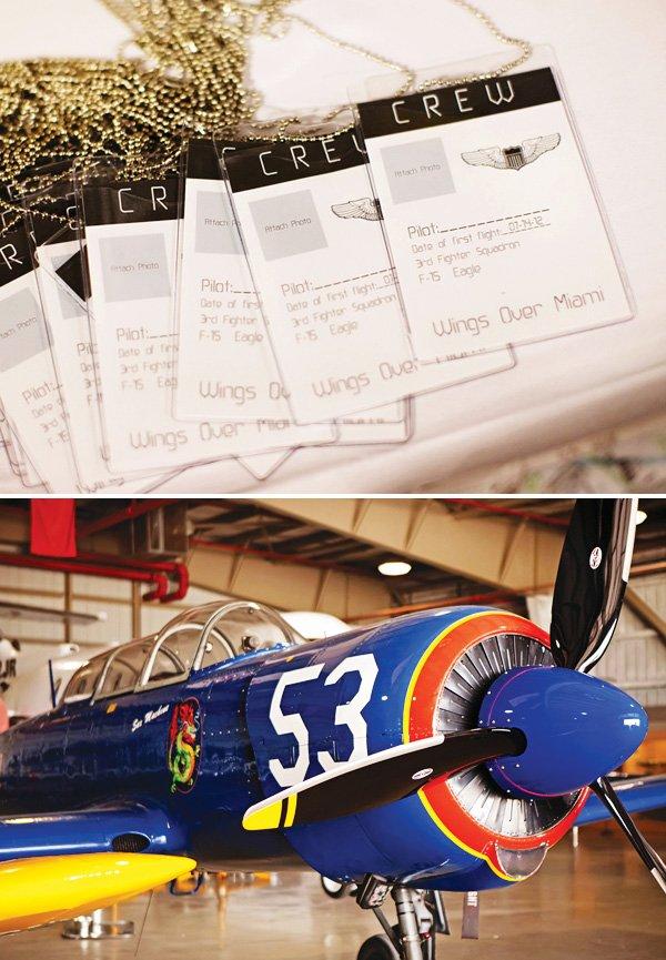 pilot crew tags