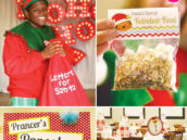 santa breakfast christmas party