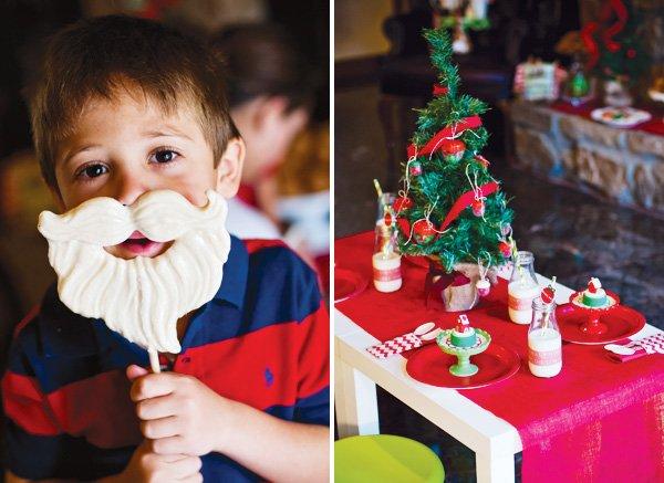 santa beard candy