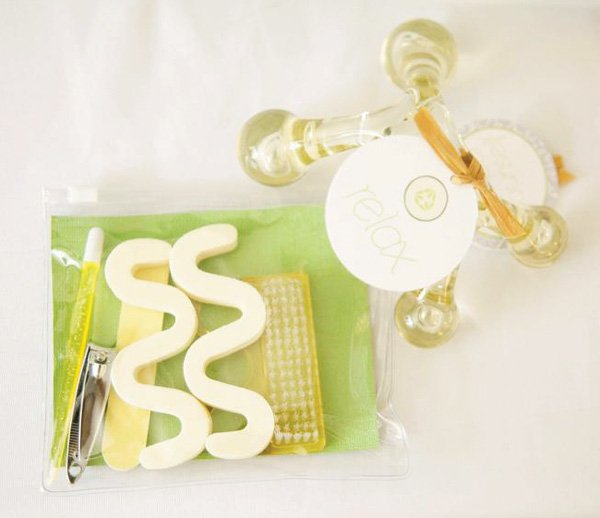 spa kit favors