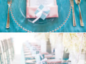 tiffanys inspired tablescape