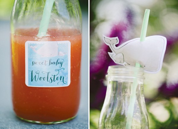 under the sea baby shower drinks