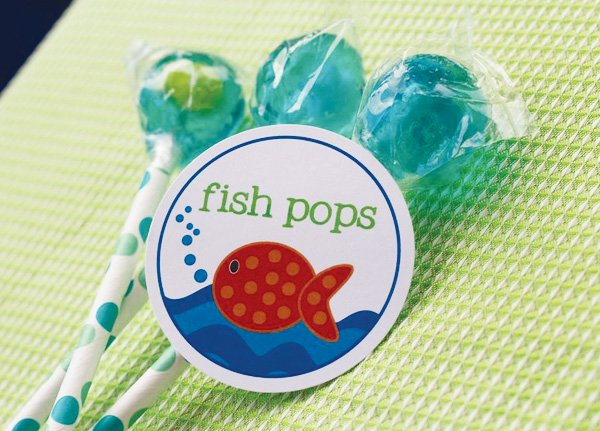under the sea party sweets