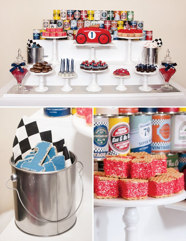 Vintage Race Car Dessert Table Hostess With The MostessR