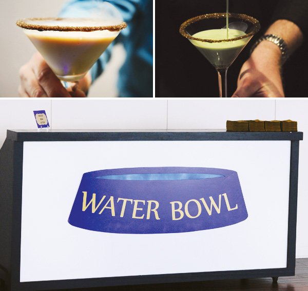 water bowl bar
