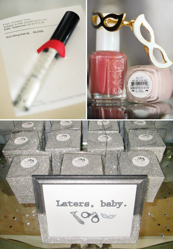 50 shades of grey party favors
