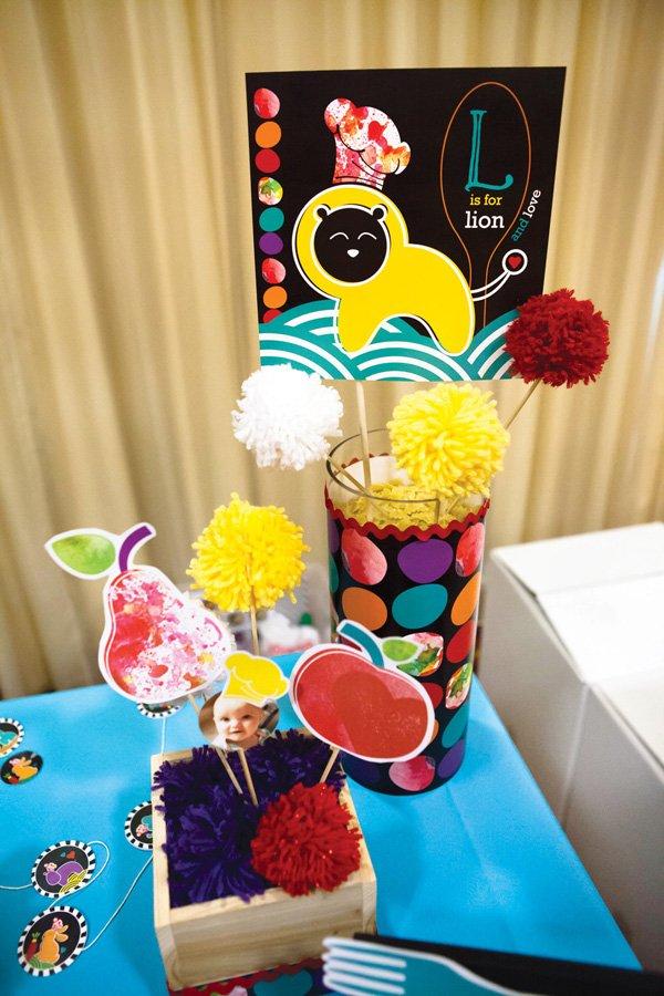 operation shower baby bistro decorations