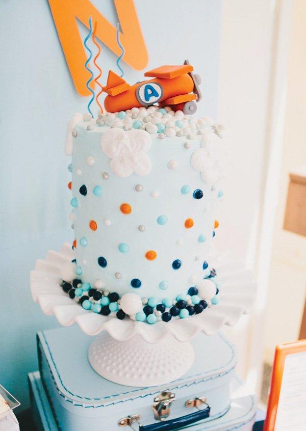 airplane sky cake