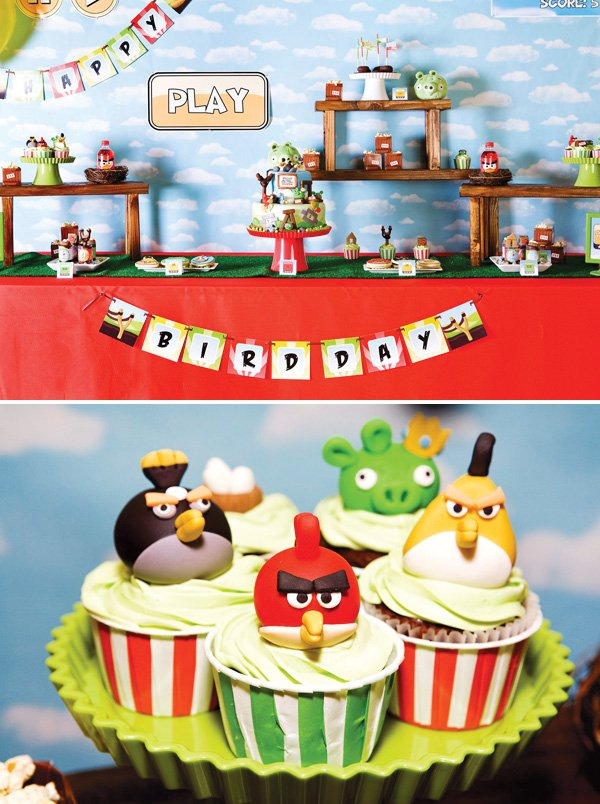 Angry Birds Inspired Party Hostess with the Mostess