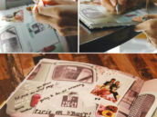 baby shower scrapbooking activity