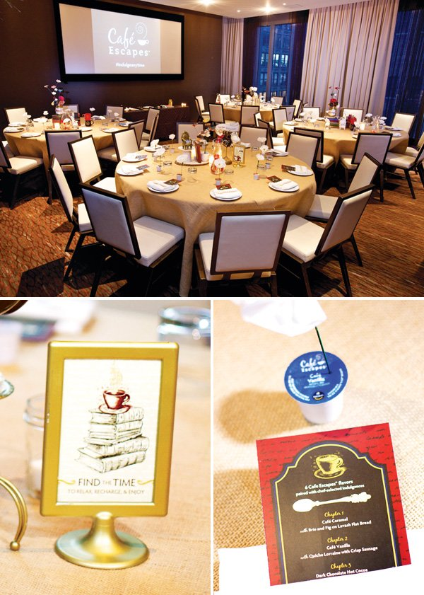 blogger event tablescape