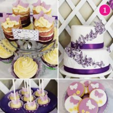 butterfly desserts
