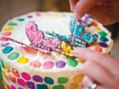 rainbow butterfly chocolate diy tutorial