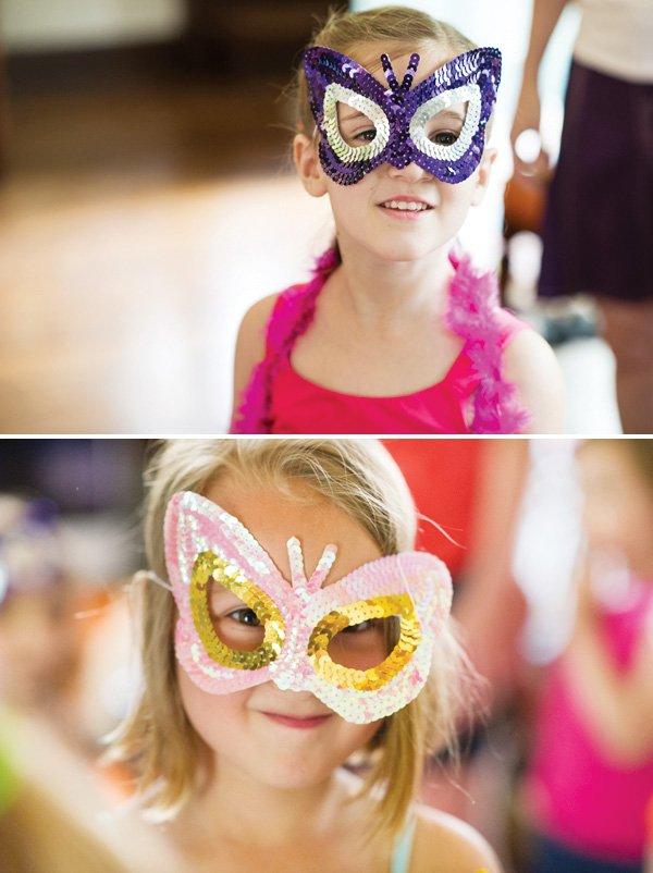 butterfly sequin masks