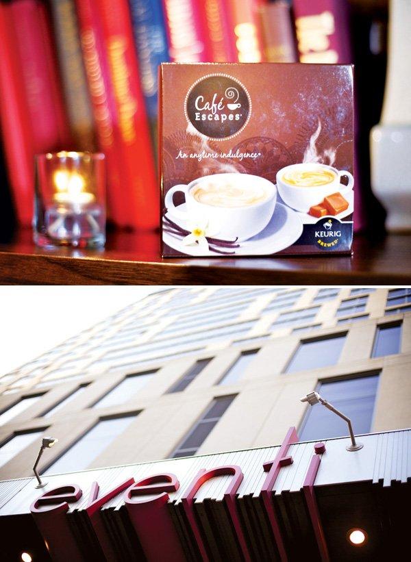 cafe escape event