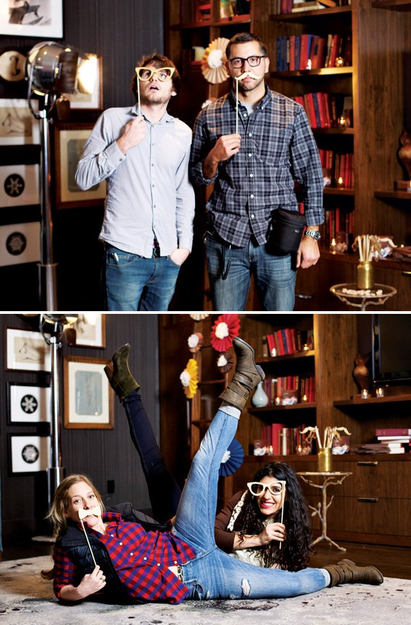 cafe escapes and hwtm photo booth