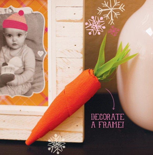 carrot crepe paper tutorial