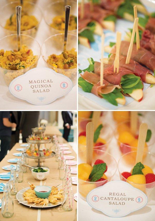 cinderella party food